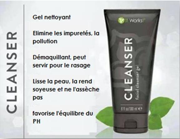 ItWorks et son produit pour visage : Cleanser