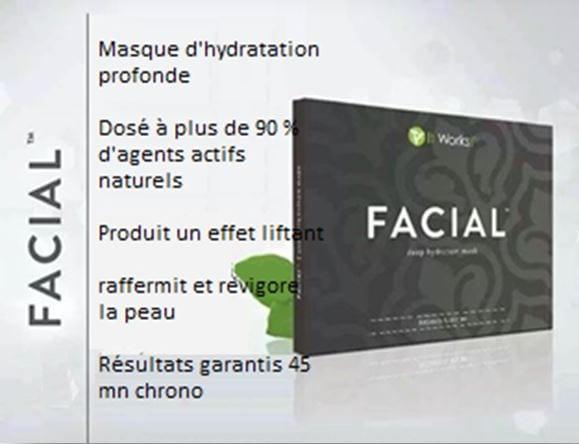 ItWorks et son produit pour visage : Facial